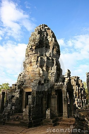 Faces at Bayon temple