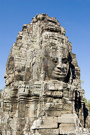 Faces of Bayon Temple, Cambodia