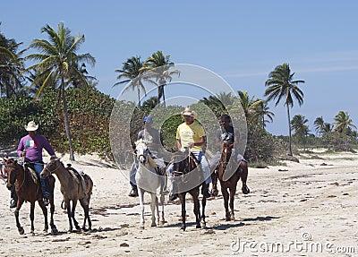 Faces Of Cuba At Playa Del Este