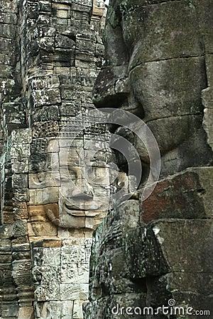 Free Faces Of Angkor Royalty Free Stock Photos - 9426688