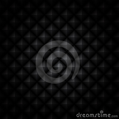 Faceted  black background