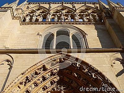 Fachada de la Coroneria, Burgos ( Spain )