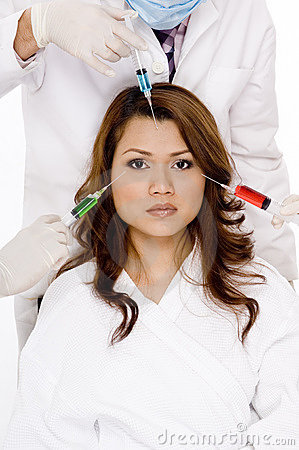 Free Facial Injections Stock Photo - 1064390