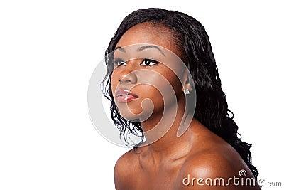 Facial skincare beauty woman
