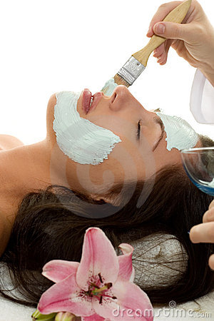 Free Facial Treatment Royalty Free Stock Images - 562039