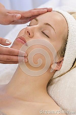Free Facial Treatment Royalty Free Stock Photography - 5837317