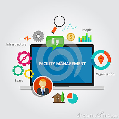 Free Facility Management Facilities Building Maintenance Service Office Royalty Free Stock Images - 59058239