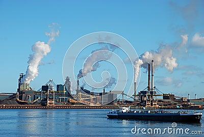 Factories near Amsterdam
