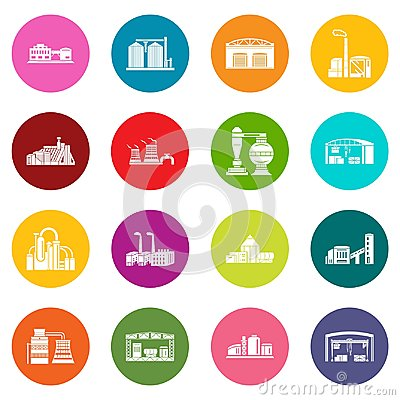 Free Factory And Production Buildings Royalty Free Stock Photography - 116647707