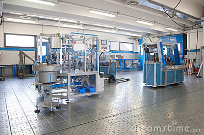 Factory - Building line e machine for automation