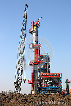 Factory construction site