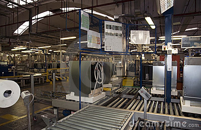 Factory - Dishwasher Production
