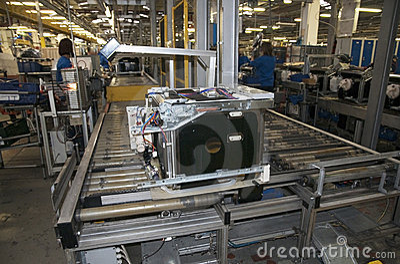 Factory - Dishwasher Production