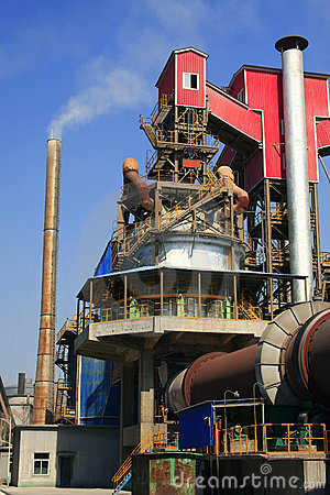 Factory equipment and chimneys
