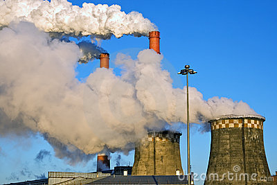 Factory Fumes Royalty Free Stock Image Image 17341106
