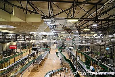 Factory Interior Editorial Stock Image