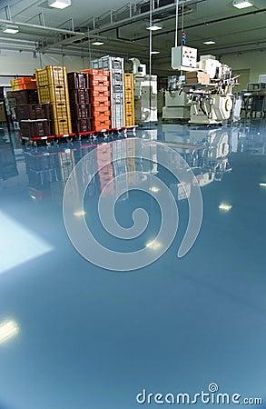 Free Factory Interior Stock Image - 5279191