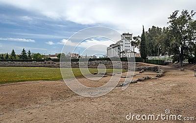Factory near the roman circus