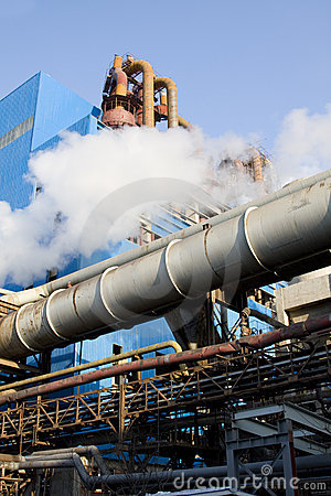 Free Factory Pipe Stock Image - 12663101