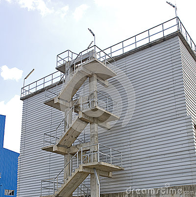 Factory Stair Royalty Free Stock Photo - Image: 27751435