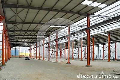 Factory storage frame