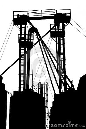 Free Factory Structure Stock Photography - 4055402