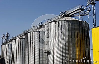 Factory tanks