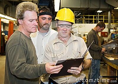 Factory Workers Internal Audit