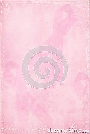 Faded Pink Ribbon