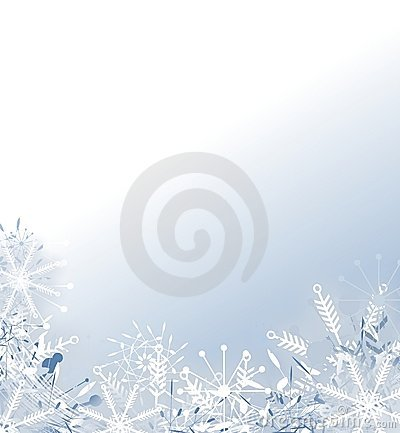 Faded Snowflake Background