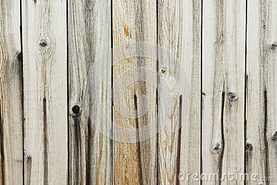 Faded Wood Fence
