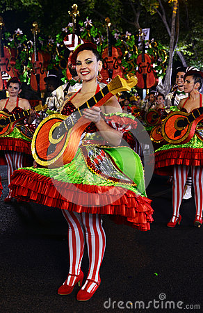 Free Fado District - Popular Parade Festivities Royalty Free Stock Photos - 79337878