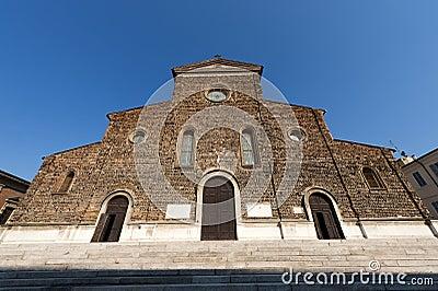 Faenza (Ravenna, Italy) - Cathedral facade