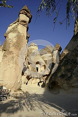 FAERIE HOUSES. CAPPADOCIA