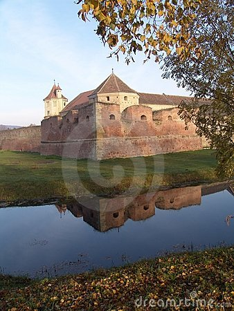 Free Fagaras Fortress Royalty Free Stock Photos - 106558