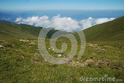Fagaras mountains, Carpathians, Romania