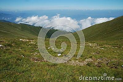 Fagaras mountains, Carpathians, Romania