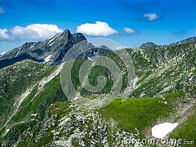 Fagaras mountains in Romania