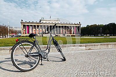Fahrrad im Altes Museum - Berlin