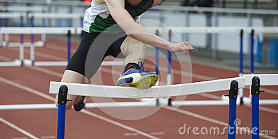 Fail at hurdle race