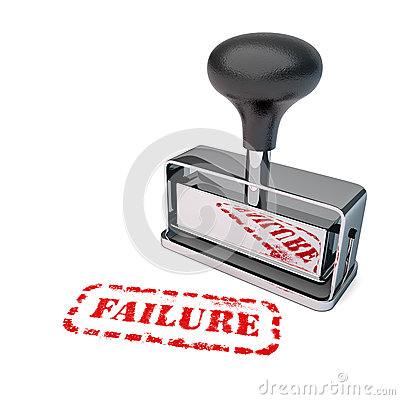 Failure Rubber Stamp