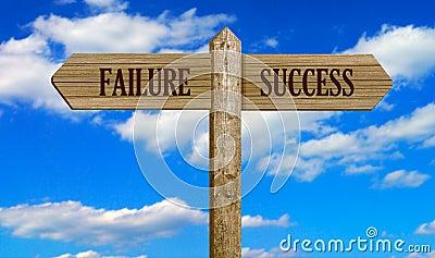 Failure & succes