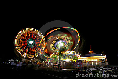 Fair Rides At Night
