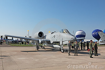 Fairchild Republic A-10 Thunderbolt II Editorial Photography