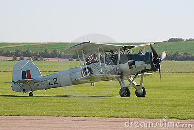 Fairey Swordfish taxis to the flight lane Editorial Photo