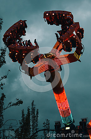 Fairground Attraction at Amusement Park