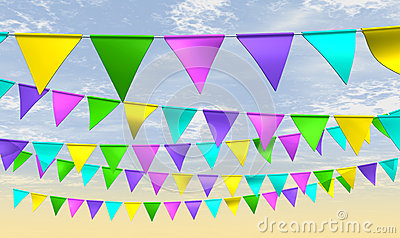 Fairground Bunting Front