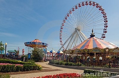 Fairground on Navy Pier