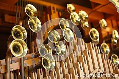 Fairground Organ Stock Photo