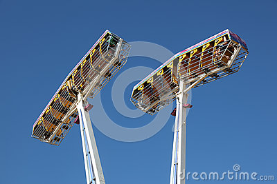 Fairground ride Editorial Stock Photo